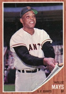 Vintage Willie Mays Baseball Card Timeline: 1951-1974 46