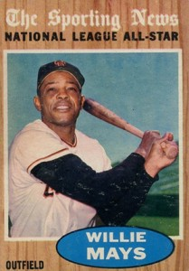 Vintage Willie Mays Baseball Card Timeline: 1951-1974 49