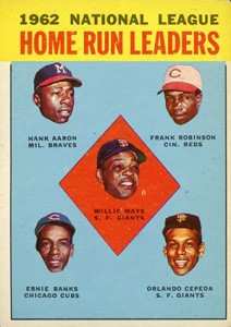 Vintage Willie Mays Baseball Card Timeline: 1951-1974 51