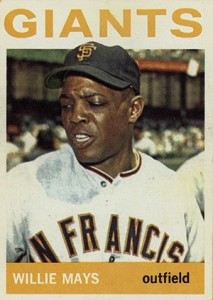 Vintage Willie Mays Baseball Card Timeline: 1951-1974 53