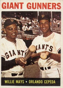 Vintage Willie Mays Baseball Card Timeline: 1951-1974 55
