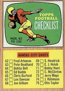 1966 Topps Football Cards 22