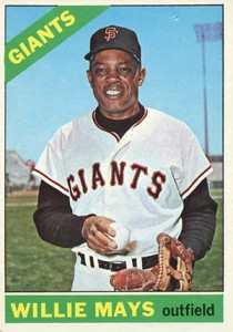 Vintage Willie Mays Baseball Card Timeline: 1951-1974 81