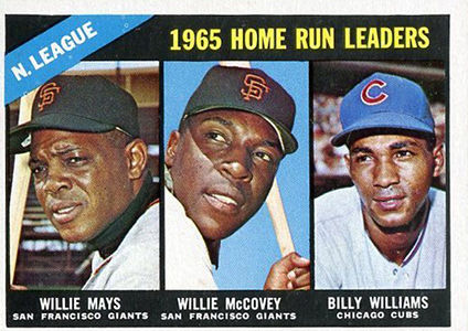 Vintage Willie Mays Baseball Card Timeline: 1951-1974 83