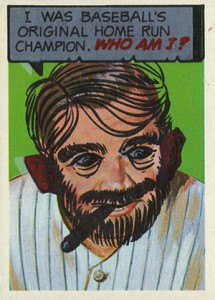 1967 Topps Who Am I 12 Babe Ruth
