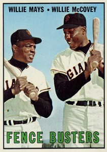 Vintage Willie Mays Baseball Card Timeline: 1951-1974 88