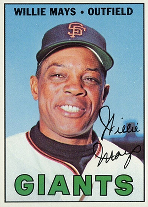 Vintage Willie Mays Baseball Card Timeline: 1951-1974 85