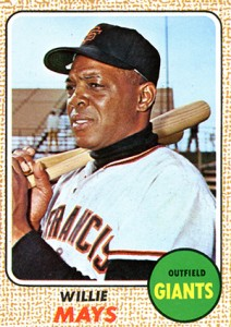 Vintage Willie Mays Baseball Card Timeline: 1951-1974 89