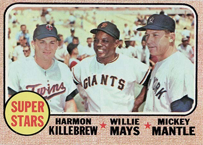 Vintage Willie Mays Baseball Card Timeline: 1951-1974 90