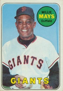 Vintage Willie Mays Baseball Card Timeline: 1951-1974 91
