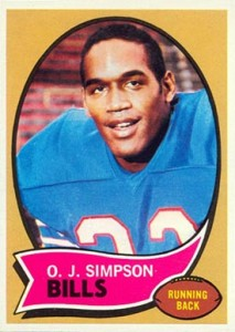 big sale c0f60 10e21 O.J. Simpson Cards, Rookie Card, Autographed Memorabilia ...