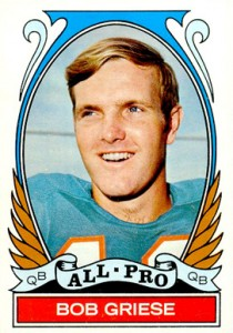 1972 Topps Bob Griese