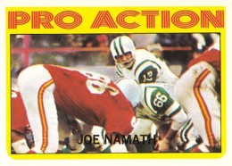 1972 Topps Football Cards 1