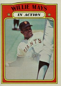 Vintage Willie Mays Baseball Card Timeline: 1951-1974 116