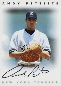 Andy Pettitte Baseball Cards and Autograph Memorabilia Guide 2