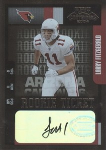 Larry Fitzgerald Cards, Rookie Cards and Autographed Memorabilia Guide 23