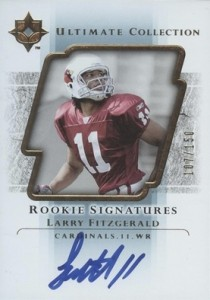 Larry Fitzgerald Cards, Rookie Cards and Autographed Memorabilia Guide 2