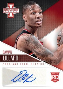 Damian Lillard Autographs in 2012-13 Panini Innovation Basketball 1