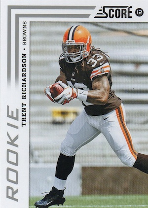 Trent Richardson Cards, Rookie Cards and Autographed Memorabilia Guide 24