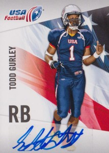 2012 Upper Deck USA Football Todd Gurley Autograph