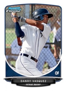 2013 Bowman Chrome Baseball Prospect Variation Short Prints Guide 25