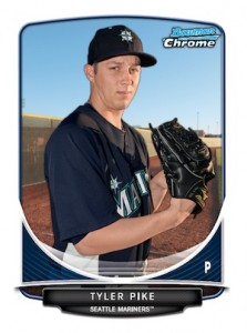 2013 Bowman Chrome Baseball Prospect Variation Short Prints Guide 27