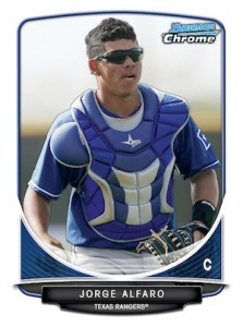 2013 Bowman Chrome Baseball Prospect Variation Short Prints Guide 38