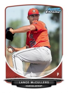 2013 Bowman Chrome Baseball Prospect Variation Short Prints Guide 30