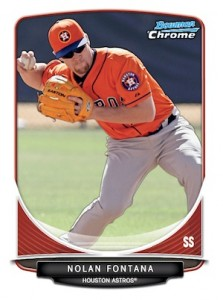 2013 Bowman Chrome Baseball Prospect Variation Short Prints Guide 2