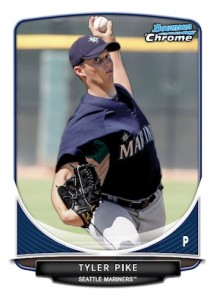 2013 Bowman Chrome Baseball Prospect Variation Short Prints Guide 28