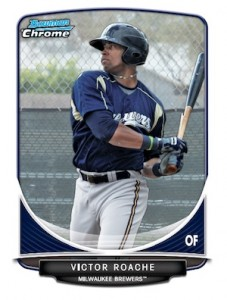 2013 Bowman Chrome Baseball Prospect Variation Short Prints Guide 11
