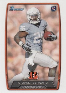 Giovani Bernard Rookie Card Checklist and Guide 1
