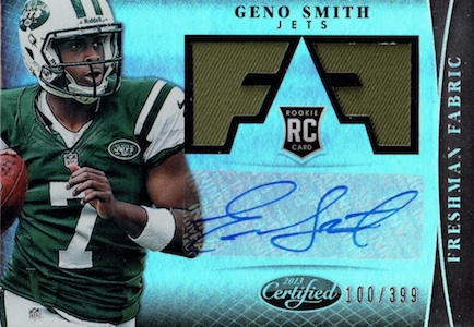 Geno Smith Rookie Card Checklist and Guide 3