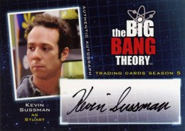 Bazinga! See the First 2013 Cryptozoic Big Bang Theory Season 5 Autographs 10
