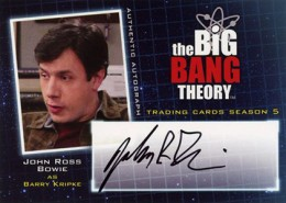 Bazinga! See the First 2013 Cryptozoic Big Bang Theory Season 5 Autographs 3