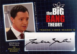 Bazinga! See the First 2013 Cryptozoic Big Bang Theory Season 5 Autographs 5