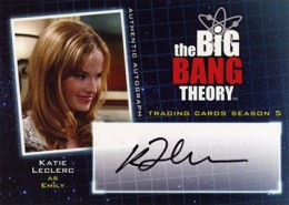 Bazinga! See the First 2013 Cryptozoic Big Bang Theory Season 5 Autographs 4