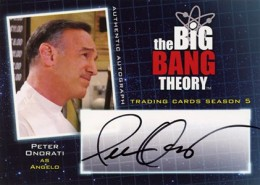Bazinga! See the First 2013 Cryptozoic Big Bang Theory Season 5 Autographs 8