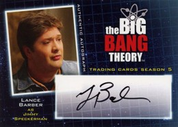 Bazinga! See the First 2013 Cryptozoic Big Bang Theory Season 5 Autographs 2