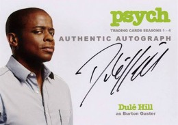 2013 Cryptozoic Psych Seasons 1-4 Autographs Don't Mess with Your Head 7