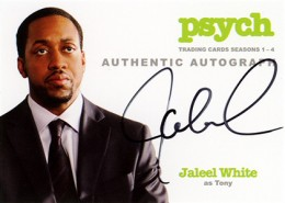 2013 Cryptozoic Psych Seasons 1-4 Autographs Don't Mess with Your Head 6