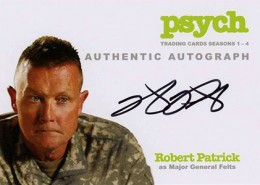 2013 Cryptozoic Psych Seasons 1-4 Autographs Don't Mess with Your Head 10