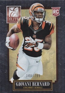 Giovani Bernard Rookie Card Checklist and Guide 24