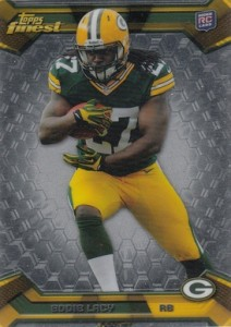 Eddie Lacy Rookie Card Checklist and Visual Guide 50