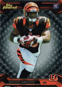 Giovani Bernard Rookie Card Checklist and Guide 3