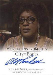 2013 Leaf The Mortal Instruments: City of Bones Autograph Guide 5