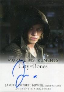2013 Leaf The Mortal Instruments: City of Bones Autograph Guide 8