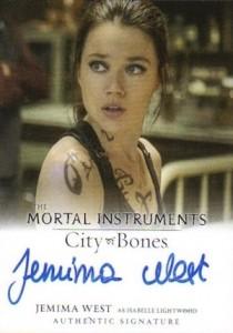 2013 Leaf The Mortal Instruments: City of Bones Autograph Guide 10