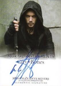 2013 Leaf The Mortal Instruments: City of Bones Autograph Guide 9