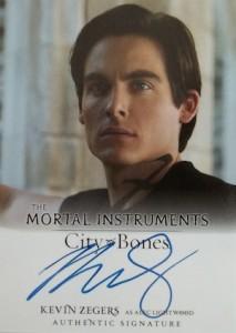 2013 Leaf The Mortal Instruments: City of Bones Autograph Guide 11